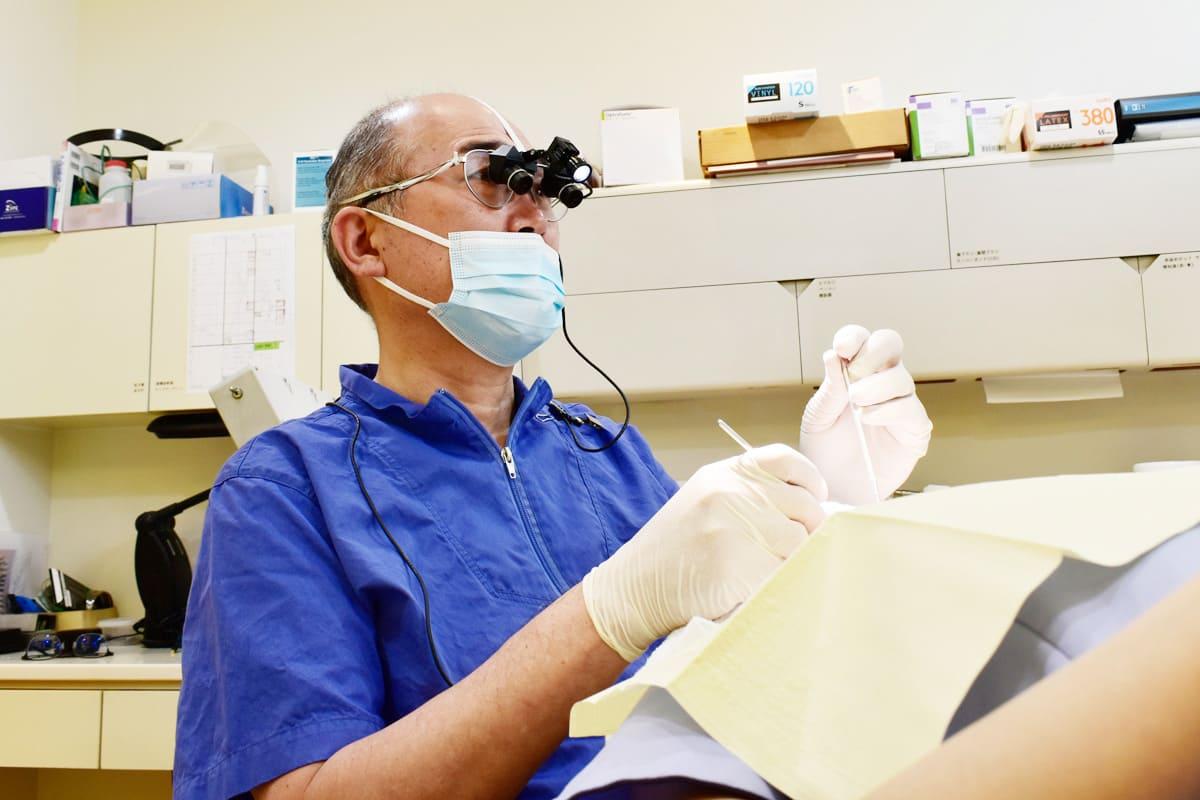 横浜市青葉区 うかい歯科医院 4.歯周病から歯を守る