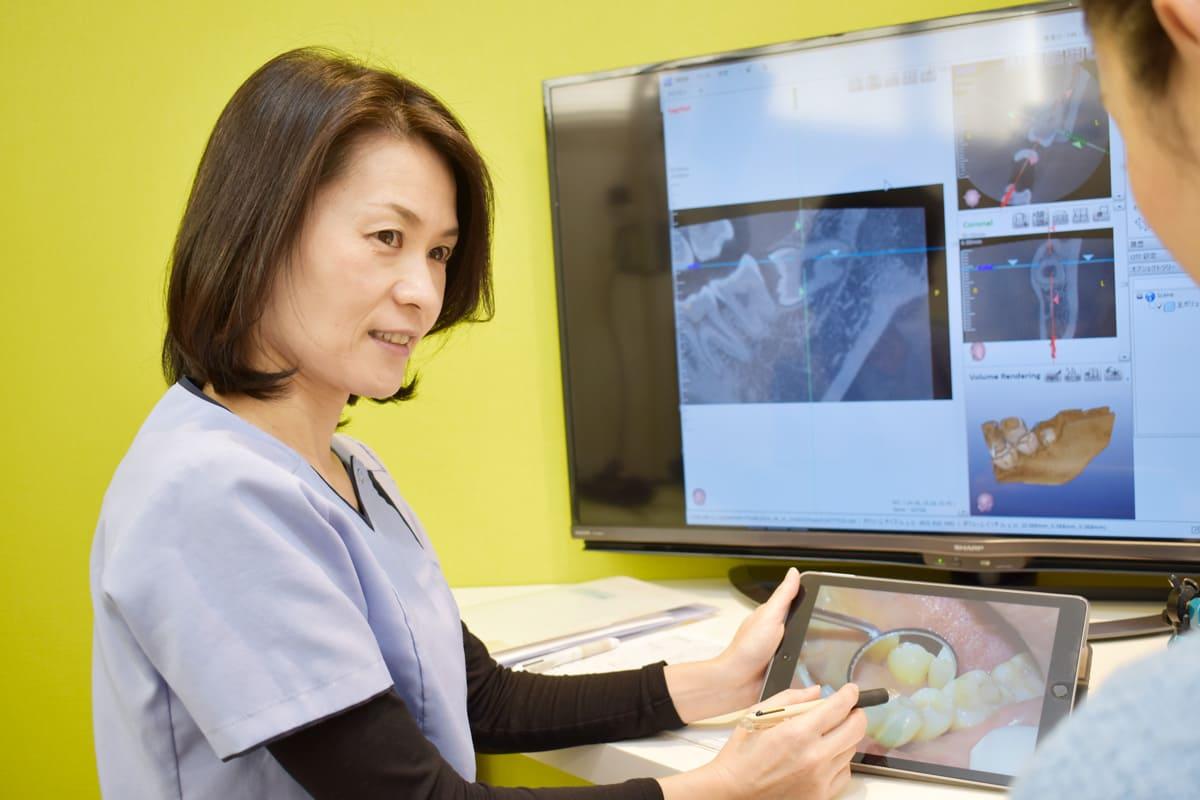 横浜市青葉区 うかい歯科医院 しっかりと患者さんのご希望をお聞きします