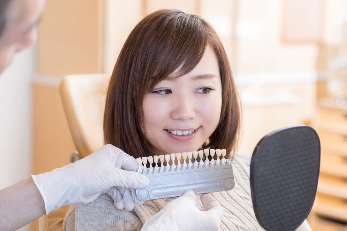 横浜市青葉区 うかい歯科医院 4.審美性の向上